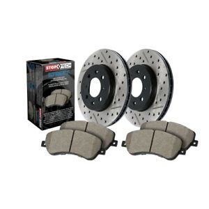 Stoptech 938 61542 Street Axle Pack Brake Kit For 15 18 Ford Mustang New