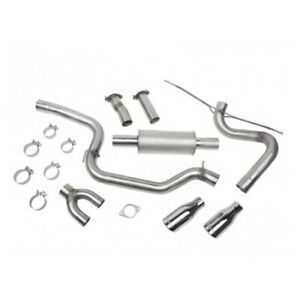 Roush 421610 Performance Exhaust Kit For 2012 16 Focus New