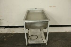 Baxter 18c Heated Donut Glazing Table Glazer Icing 24 Donuts At Once 18x26