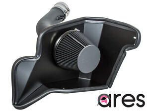 Ares Black Heat Shield Cold Air Intake 15 17 For Ford Mustang Base 3 7 V6