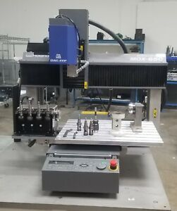 Roland Modela Pro Mdx 650a 3d Cnc Mill Milling Automatic Tool Changer 4th Axis