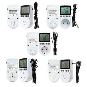 Socket Outlet 16a With Timer Sensor Digital Thermostat Temperature Controller