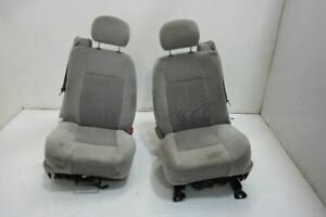 2005 09 Gmc Envoy Lh Driver Rh Right Front Seat Bucket Cloth Electric