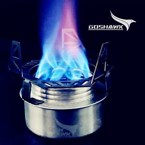 Goshawk Open Coil Spiral Burner For Outdoor Hiking Camping