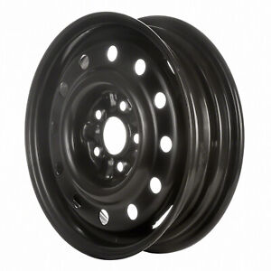 3050 Refinished Ford Thunderbird 1993 1997 15 Inch Black Steel Wheel Rim