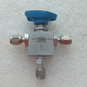 Hoke 1 8 Stainless Steel Ss 3 Way Valve 7177g2y Several Avail