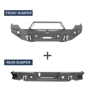 Front Bumper Or Rear Bumper W Led Light Assembly For 2013 2018 Dodge Ram 1500