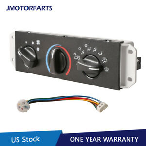 Ac Heater Control Blower Motor Switch For 99 04 Jeep Wrangler Tj 55037473ab