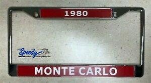 Chrome Metal License Plate Frame With Customized Engraving Plates Standard Size