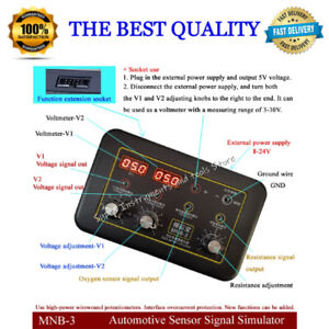 Automotive Sensor Signal Analog Box Voltmeter Car Ecu Tester Auto Repair Tool