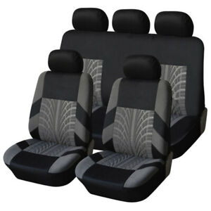 Polyester Car Seat Covers 9pcs Protective Cover Fit For Ford Escape Fiesta At