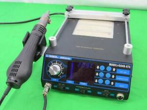 X tronic Model 5040 xts Soldering Iron Station Hot Air And Preheating Station
