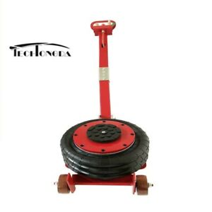 6600lbs 3 Tons Air Jack red Height 5 9 15 75 Use On Hard Level Surfaces Only