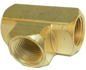Big A Service Line 3 20160 Brass Pipe Tee Fitting 3 8 X 3 8 X 3 8
