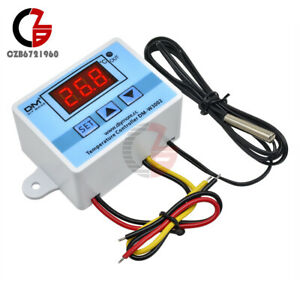 Ac 110 220v Xh w3002 Digital Led Temperature Controller Microcomputer Thermostat