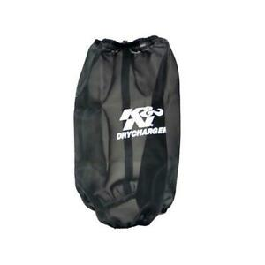 K N Rc 4780dk Drycharger Air Filter Wrap 9 5in Tall Black