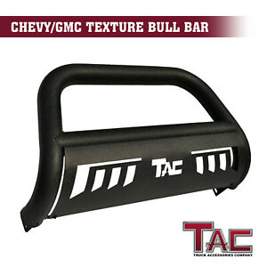 For 2015 2021 Chevy Colorado gmc Canyon 3 Texture Black Bull Bar Grille Guard