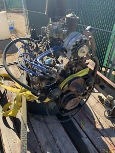 Ford V8 Flathead Engine And Transmission Running