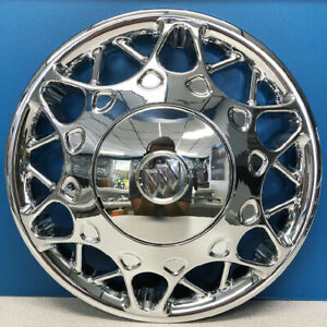 One 2004 2005 Buick Century 15 Chrome Hubcap Wheel Cover New Replacement 1153c