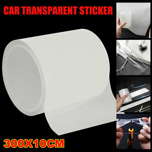 10cm Protector Sill Scuff Cover Car Door Plate Sticker Anti Scratch Bumper Strip