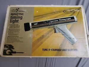 Vintage Sears Craftsman Inductive Timing Light 28 2134 W Box And Owners Manual