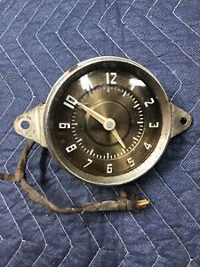 Ford Flathead V8 Dash Clock 1948 1949 1950 1951 1955 1958 Lincoln Mercury