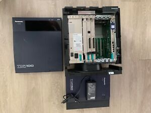 Used Panasonic Kx tda100 Phone System With Kx tva 50 Voicemail