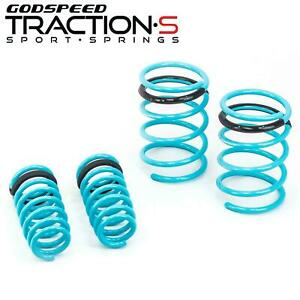 Godspeed Traction S Lowering Springs Kit For Acura Rsx Type S 02 04 Dc5 New