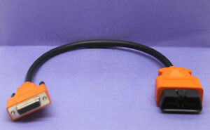 18 Obdii Obd2 Cable Compatible W Snap On Da 4 For Solus Ultra Scanner Eesc318