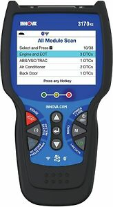 Innova 3170rs Vehicle Computer Diagnostic Scan Toolcode Reader For Obd1 Obd2