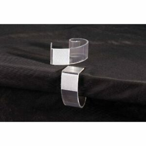 Draperydiy Table Skirting Clips Tables 3 4 quot 2 quot 50 Per Pack Furniture