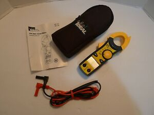 Ideal 400 Aac Clamp Meter W Instructions Case 61 732