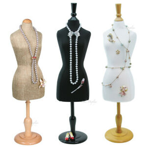 3pc Jewelry Display Stand Mannequin Miniature Body Form Jewelry Stand 22 5 16