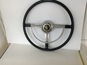 1948 1949 1950 Buick Banjo Steering Wheel Horn Ring Button Nice Original