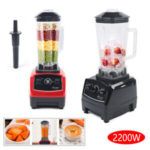 3hp 2l Household Blender Smoothie Maker 2200w High Speed Food Mixer 45000rpm