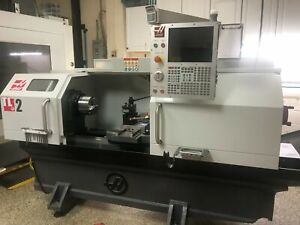2018 19 Haas Tl2 Lathe Only 71 Cutting Hours Loaded With Options And Tooling