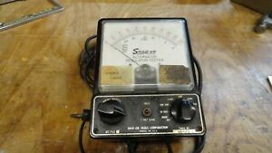 Snap On Alternator Voltage Regulator Tester Ohm And Amp Meter Mt702