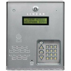 Linear Ae 100 Commercial Telephone Entry System For Access Control Ae100