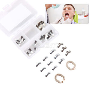 Dental Metal Matrices Sectional Contoured Matrix Refill Package Two Ring