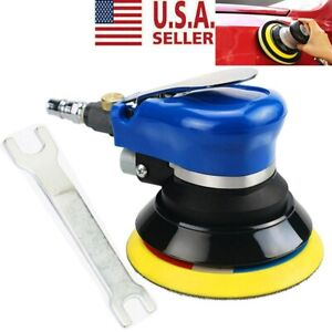 5 Air Random Orbital Palm Sander Auto Body Orbit Da Sanding Low Vibration