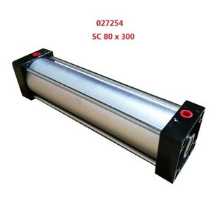 Newest Air Cylinder Pneumatic Standard Cylinder Sc 80 X 300 Stroke 300mm 12