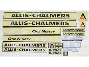 Decal For Allis Chalmers 190 Fits Allis Chalmers 190xt