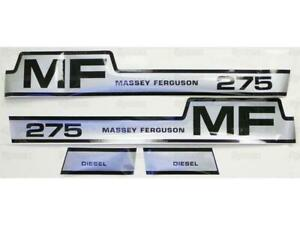 Decal Kit For Massey Ferguson 275 Hood Fits Massey Ferguson 275