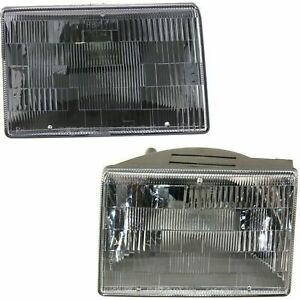 New Head Lamp Halogen Assembly Fits 1993 1998 Jeep Grand Cherokee Left Right