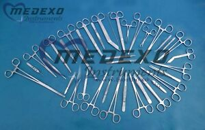 Minor Micro Surgery Instruments 100 Pcs Set For Veterinary Surgical Instruments