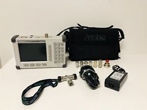 Anritsu S331d Site Master Cable Antenna Analyzer W soft Case Accessories