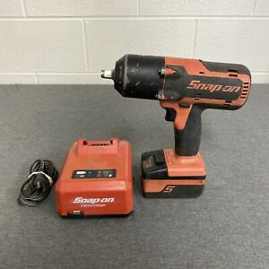 Snap On Ct7850 1 2 Drive 18v Impact Wrench W Ctb7185 Battery Ctc720 Charger