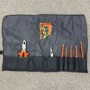 Salisbury Pro tools 8pc Linemen Insulated Tool Kit
