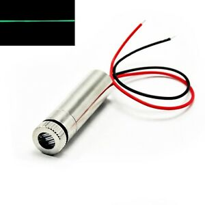 515nm 520nm Green Line 10mw Focusable Laser Diode Module 12x45mm 5v Driver in