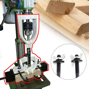 New Woodworking Square Hole Chisel Mortising Mortise Tenon Drill Set Steel Usa